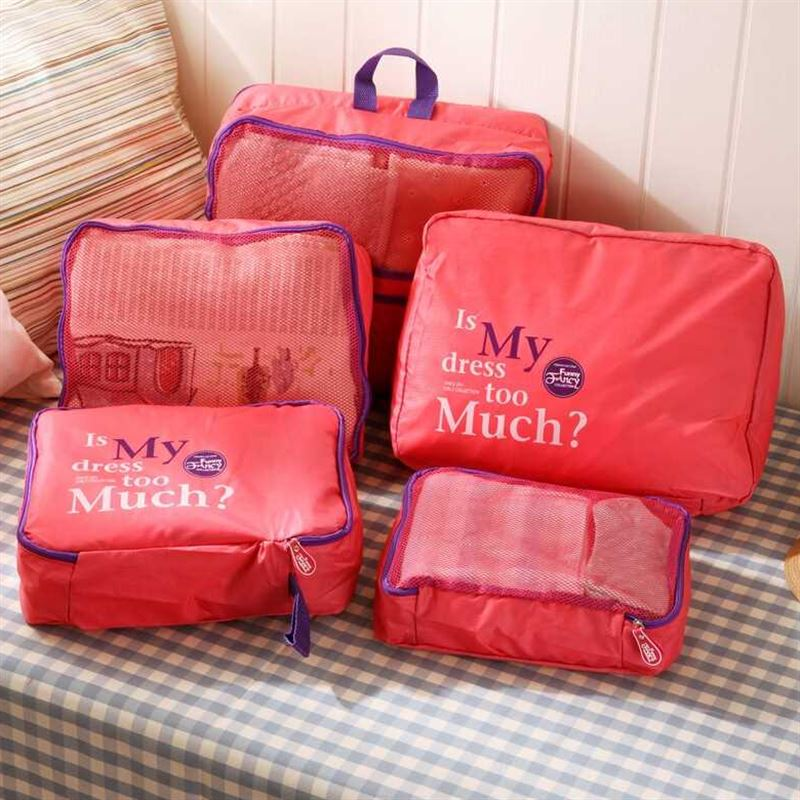 Travel Storage Bags Luggage Underwear Finishing Waterproof Bag Travelling Organizer Business Trip Clothes Storage Bag 7 Sets