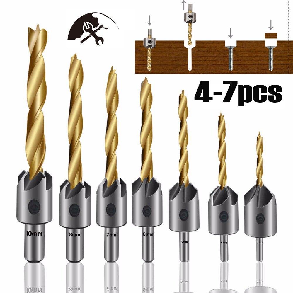 3 10 мм столешница сверло столярные деревообрабатывающие буровые инструменты Круглый хвостовик с шестигранным ключом|Сверла|   | АлиЭкспресс