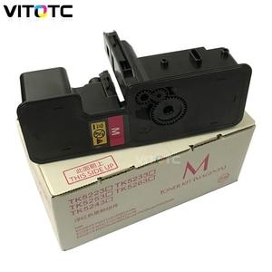 Image 4 - 4 gekleurde TK 5230 TK5230 Navulbare Tonercartridge Voor KYOCERA Ecosys M5521cdw M5521cdn P5021cdw P5021cdn M5521 P5021 printer