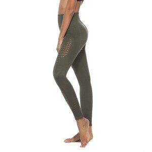 Image 3 - חותלות דחיסת מכנסיים אצן נשים כושר סופר נמתח תרגיל מכנסיים מכנסיים חותלות חלקה בטן בקרה
