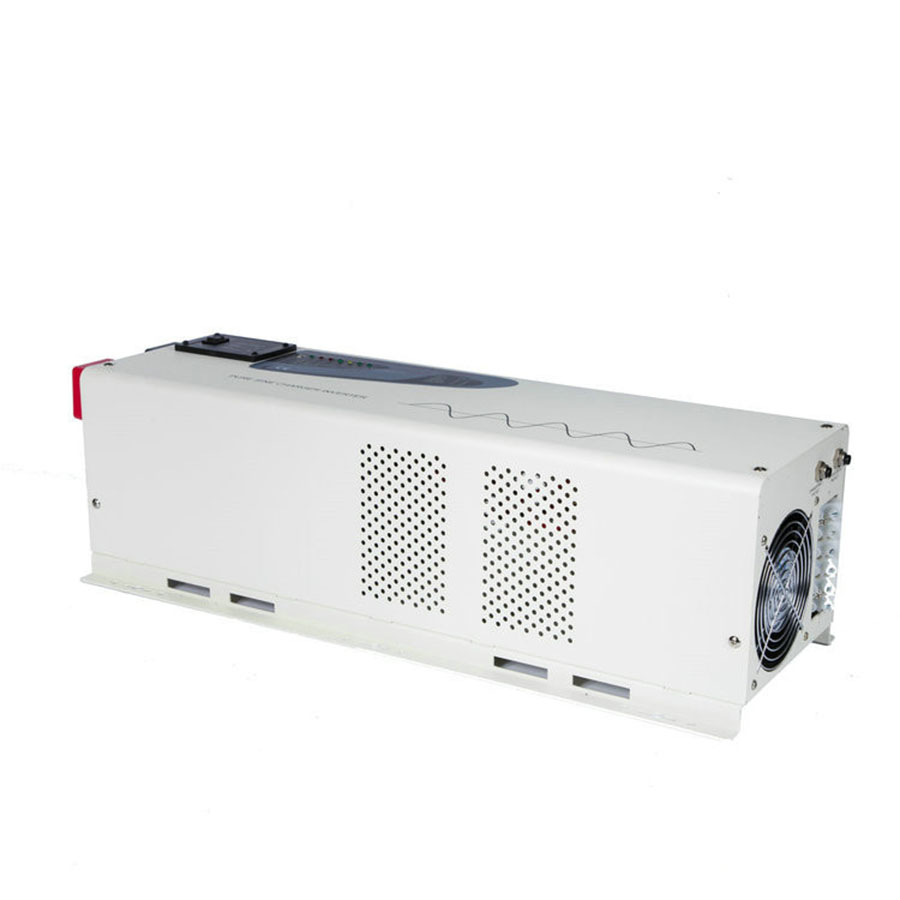Инвертор 5000 Вт с ЖК дисплеем Низкая Частота Чистая синусоида Инвертор с зарядным устройством