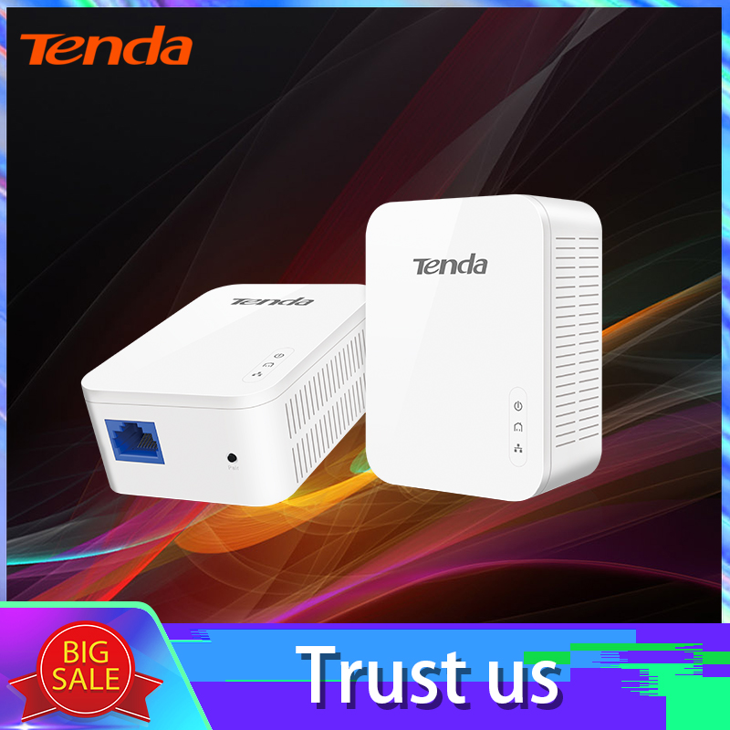 1pair Tenda PH3 1000Mbps KIT Gigabit Power Line Adapter Powerline Network Adapter AV1000 Ethernet PLC Adapter  IPTV Homeplug AV2