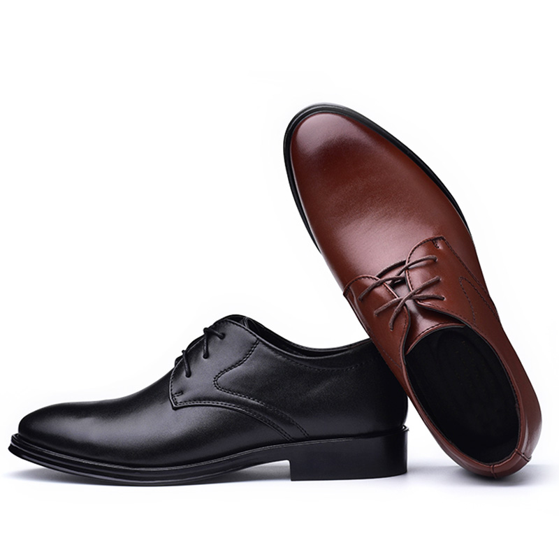 2020 new men dress shoes high quality leather formal shoes men big size 38-48 oxford shoes for men fashion office shoes men 6
