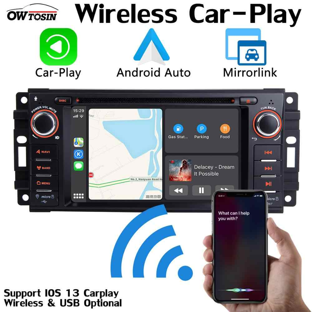 PX6, 4G + 64G, Android 9,0, Radio DVD para coche, GPS, para Jeep Wrangler, Commander, Cherokee, Dodge Caliber, Journey Liberty, CarPlay, DSP