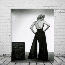 Marilyn Monroe Sexy Back Wall Art Canvas Painting Posters Prints Modern Painting Wall Picture For Living Room Home Decor Artwork цена