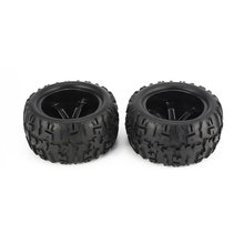 2Pcs 150mm Monster Truck Wheel Rim and Tire for for 1/8 Traxxas HSP HPI E-MAXX Savage Flux ZD Racing RC Car Accessories все цены