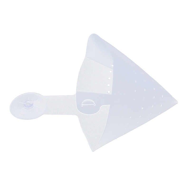 Berdiri Sendiri Anti-Blocking Perangkat Lipat Filter PVC Tebal Praktis Corong Dilipat Wastafel Filter Dropshipping Dapur Hal