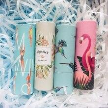 12.1mm New Arrival pusty papier pakowy pomadka w tubce, okrągłe kosmetyczne piękno szminka wielokrotnego napełniania butelki, przybory do makijażu, 10/30/50 sztuk