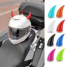 High Quality 2PCS Motorcycle Helmet Horn Decoration Sucker Suction Cup Stick Uni