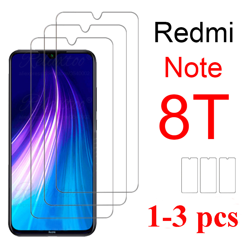 3pcs Protective Glass On For Xiaomi Redmi Note 8t 8pro Redmi 8a Screen Protector Redme Note 8 T Pro Redmi8 A Tempered Glass Film
