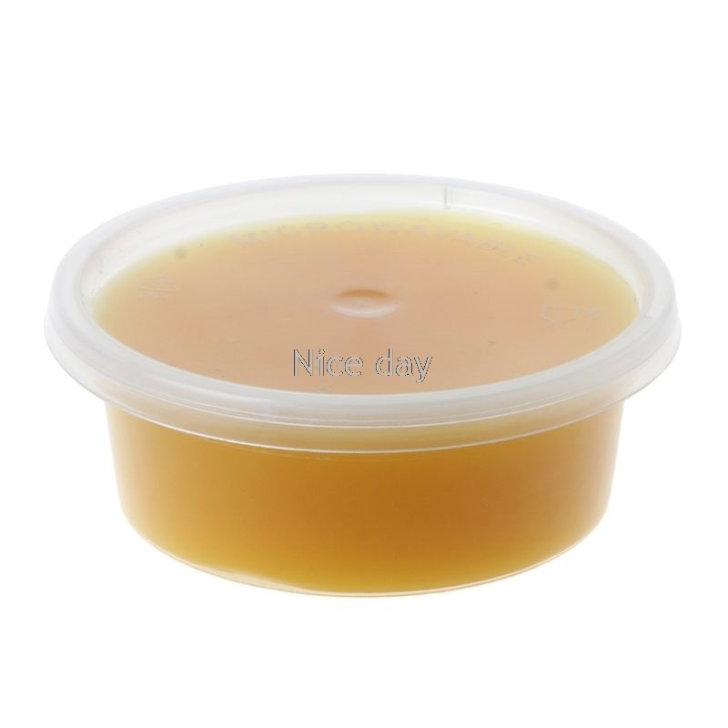 50g Natural Pure Beeswax Cosmetic Grade Filtered Organic Bee Wax Wood Polishing Bamboo Furniture Floor Surface Wax F15 20