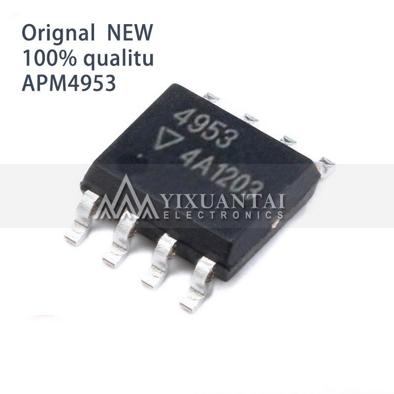 10Pcs/a lot SOP-8 APM4953KC-TRG APM4953 APM 4953 LED display control 100% new SOIC-8