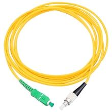 5 Teile/beutel SC/ APC FC/ UPC 3mm Fiber Optic Jumper Kabel Einzigen Modus Verlängerung Patchkabel