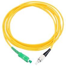 5 adet/torba SC/ APC FC/ UPC 3mm Fiber optik bağlantı kablosu tek modlu uzatma yama kablosu