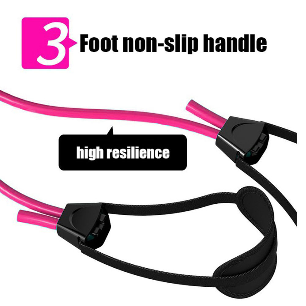 Resistance Bands Gym Equipment For Home Workout 91cm Pilates Sport Training Workout Elastic Bands Yoga Sport Accessories D30