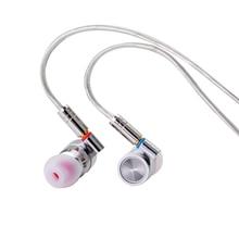 سماعات داخل الأذن من TinHiFi T4 سماعات احترافية هاي فاي سماعة رأس معدنية Hifi سلكية Mmcx سماعات أذن ستيريو قابلة للاستبدال كابل