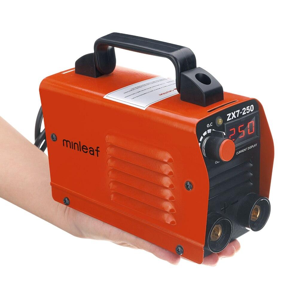 New ZX7-250 250A Mini Electric Welding Machine Portable Digital Display MMA ARC DC Inverter Plastic-welder Weld Equipment