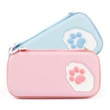 Портативный чехол iben с кошачьими когтями для nintendos сумка