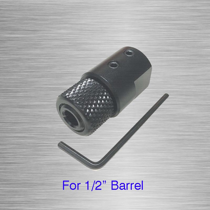Barrel End Threaded Adapter For 1/2