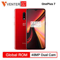 "Original Oneplus 7 Snapdragon 855 Octa Core Smartphone 6.41"" AMOLED Screen 48MP+16MP Dual Rear 16MP Front Cams NFC Mobile Phone"