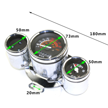 Electric Scooter 60V Instrument Motorcycle Speedometer Tachometer YB-DGW-60V yb
