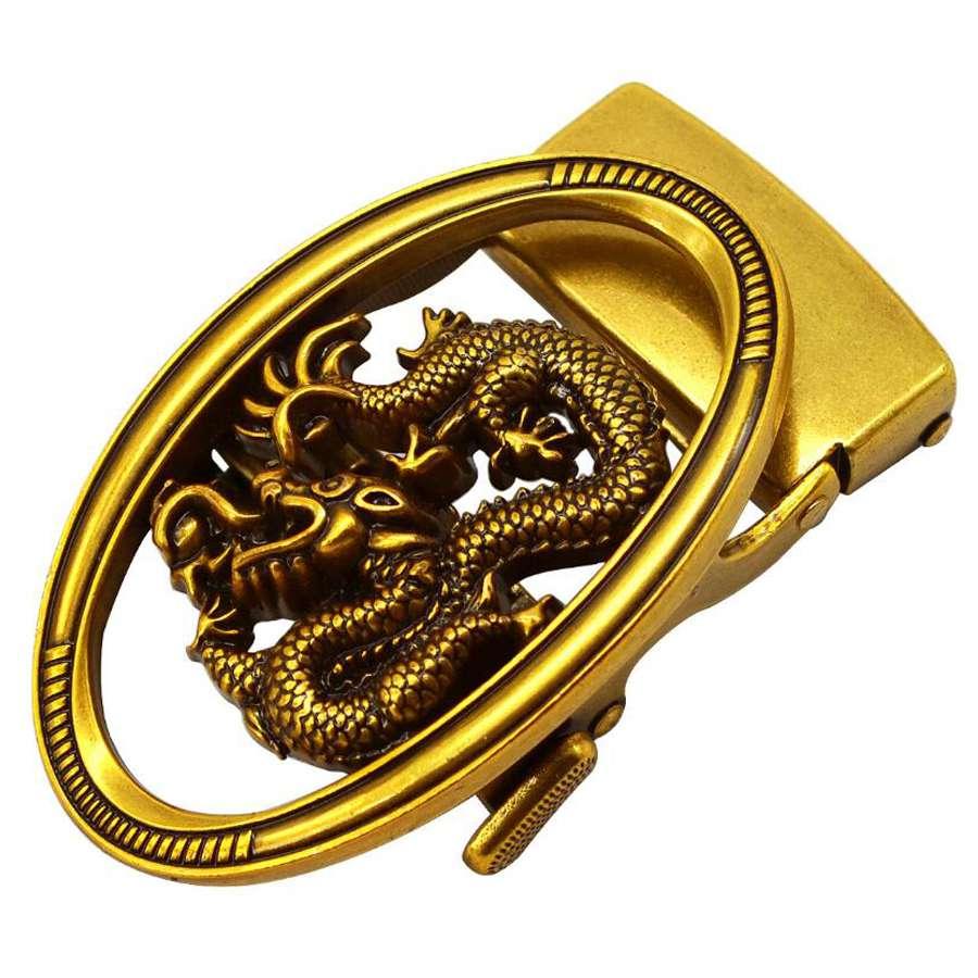 Belt Buckles For Men Automatic Buckle Alloy Solid Buckle Automatic Ratchet Suit For 33-36mm Belt Slide Ratchet Belt Buckle