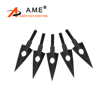 Archery Broadheads Arrowheads Carbon Steel Hunting Target Traditional Arrow Tips Shooting Sports Compound Recurve Bow C