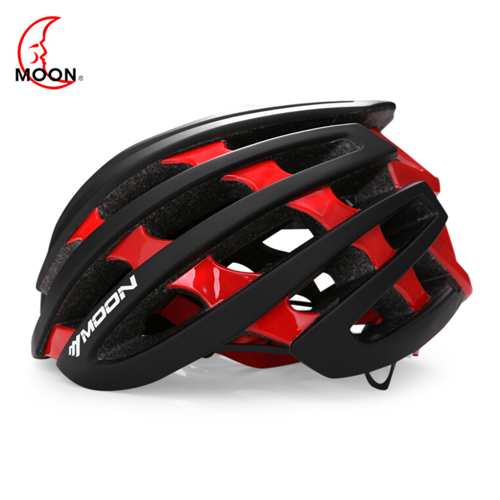 MOON Bicycle Helmet Riding Equipment PC Shell EPS Body 36 Vents Removable Lining Integrally Molded Bike Helmet For Cycling