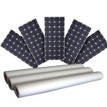 لوحة طاقة شمسية تغليف 4 متر إيفا 2 متر ورقة الظهر TPE الشمسية إيفا فيلم ورقة الظهر لوحة طاقة شمسية مجموعات