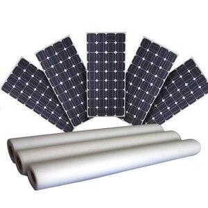 Image 1 - Panneau solaire encapsuler 4 mètres EVA + 2 mètres feuille arrière TPE solaire EVA film feuille arrière bricolage kits de panneaux solaires