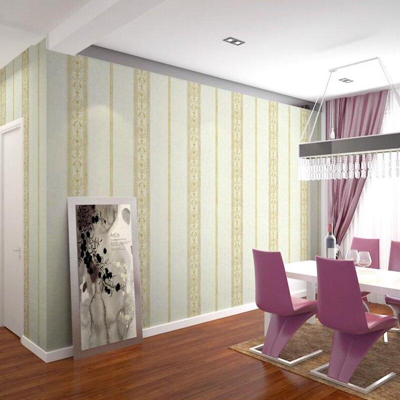 3D Wallpapper Seamless Wallcovering Non-woven Bedroom Living Room Wallpaper Modern Minimalist Waterproof Vertical Stripes