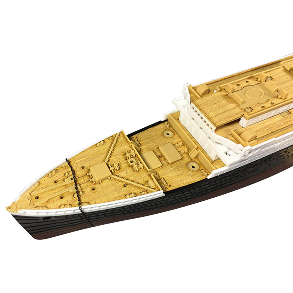 Static Kit 1pc Model Wooden Deck For Academy 14214 1/700 Scale R.M.S. Titanic With Anchor Chain