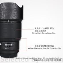 Osłona na naklejkę na obiektyw Sigma 85 f1.4 Art mocowanie EF skórka na zarysowania