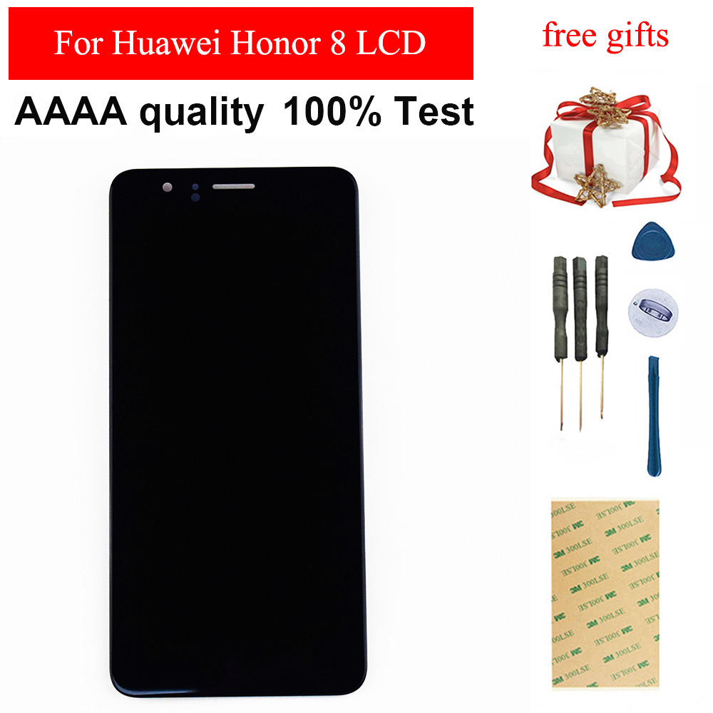 Für Huawei <font><b>Honor</b></font> <font><b>8</b></font> <font><b>LCD</b></font> <font><b>Display</b></font> FRD-L19 FRD-L09 <font><b>LCD</b></font> Touch Screen Digitizer Sensor Panel Glas <font><b>LCD</b></font> Screen Panel Montage image