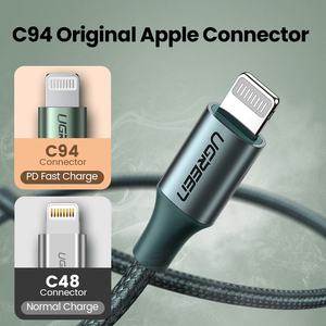 Image 3 - Ugreen mfi usb c para relâmpago iphone carregador cabo para iphone 12 mini pro max 8 pd 18w 20w cabo de dados de carregamento rápido para macbook