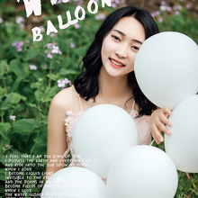 25pcs 5-36inch big pure white baloon custom wedding balloon advanced matte inflatable helium balloons birthday party decorations