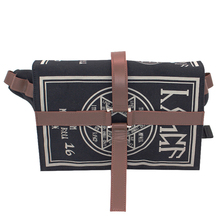 Gothic Magical Spell Book Messenger Crossbody Bag Gift Cosplay Adjustable for Students New