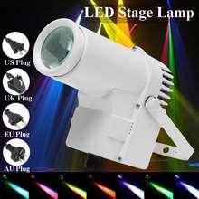 30w rgbw led iluminação de palco pinspot feixe spotlight dmx512 multi-modo 360 graus iluminação disco festa ktv luz de palco backlight
