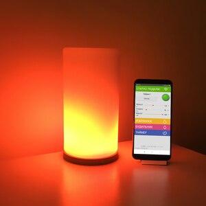 Image 1 - Matrix 16x16 DIY GyverLamp wifi Touch lamp Bendable Digital Flexible addressable strip Pixel light WS2812B RGB LED DC5V