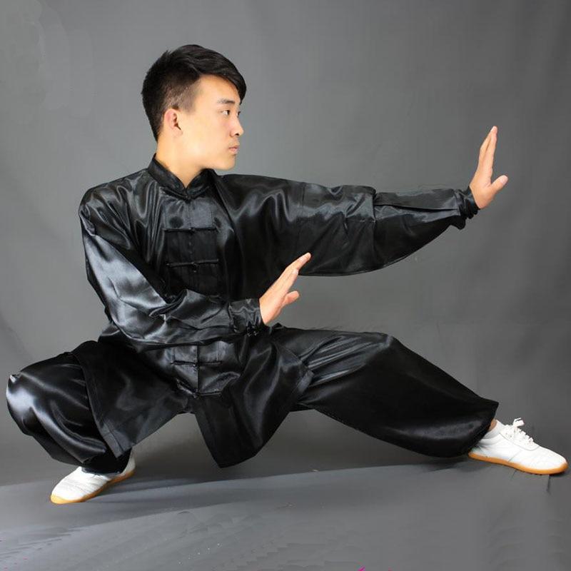 USHINE HX11 белого, синего и желтого цвета; Тай Чи спортивная одежда Длинные рукава форма для кунгфу ушу форма тайцзи одежда для мальчиков и девочек| | | АлиЭкспресс