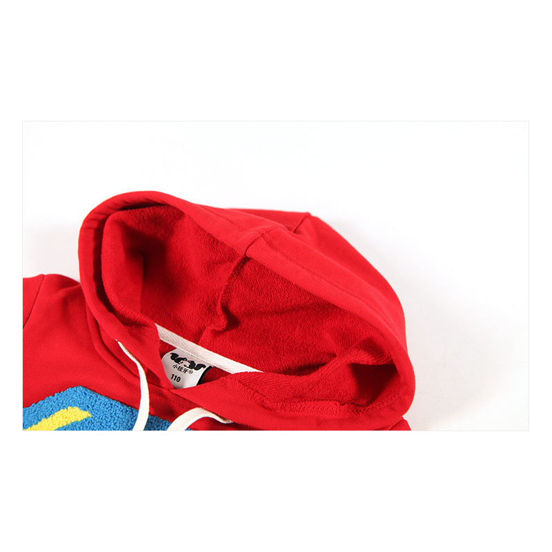 Комплект детской одежды для мальчиков, Спортивная толстовка с длинными рукавами с суперменом+ штаны, коллекция года, весенние комплекты, повседневная одежда для маленьких мальчиков, топы с капюшоном