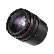 Objectif de caméra à mise au point 50mm f/1.4, grande ouverture, Portrait manuel, faible Dispersion, pour Sony E Mount A7 A7M2 A7M3 NEX 3 5N 5R 5T