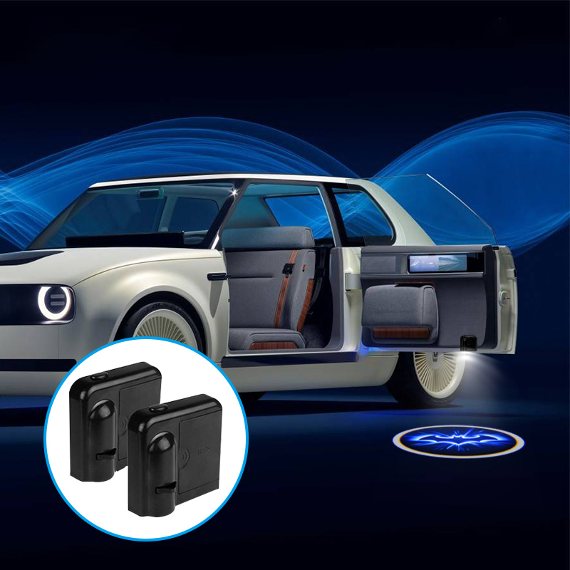 1Pcs Wireless Led Car Door Welcome Laser Projector Logo Ghost Shadow Light For Ford Volkswagen BMW Toyota Chevrolet Kia Subaru