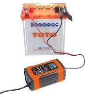 Gorąca Foxsur 12V uniwersalna ładowarka baterii typ naprawy 12Ah 36Ah 45Ah 60Ah 100Ah impuls naprawy ładowarka samochodowa ładowarka Lcd wyświetlacz nas wtyczka w Ładowarki od Elektronika użytkowa na