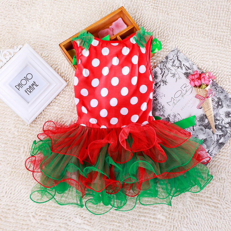 Hfb91923a4ef64b42b2c7073bf8006390m 2-6T Santa Claus Christmas Dress Kids Party New Year Costume Winter Snowman Baby Girl Clothes Christmas Tree Children Clothing