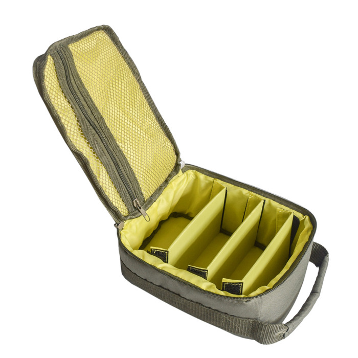 Bolsa de armazenamento para carretel de pesca,