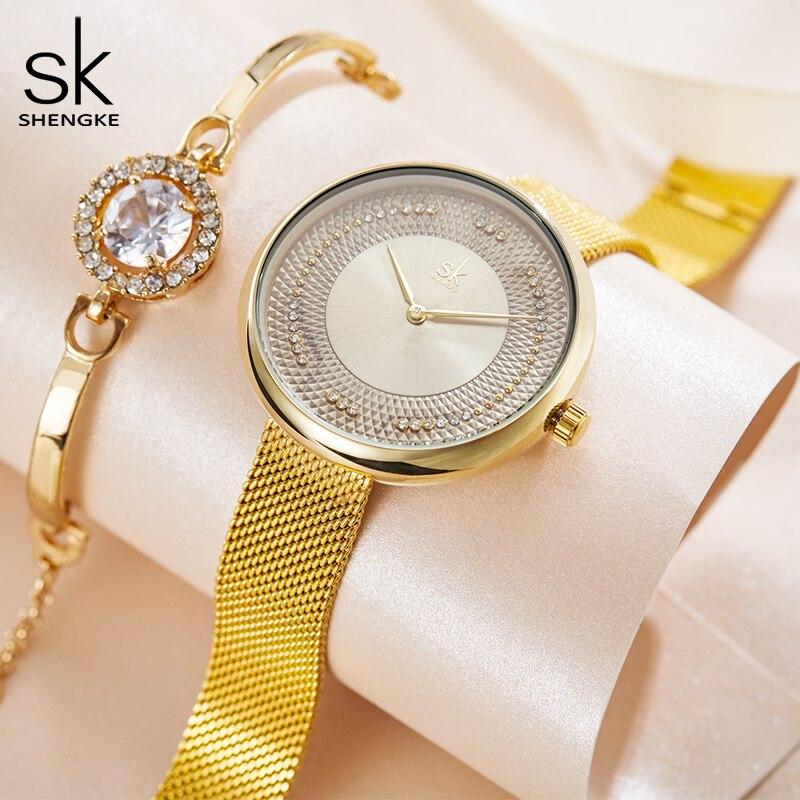 Women's Wrist Watches Luxury Diamond Quartz Wristwatches Ladies Brand Simple Watch Women Waterproof Elegant Female Clock Watches