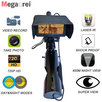 Megaorei 2021 nowy luneta z noktowizorem optyka myśliwska celownik taktyczny 850nm Laser IR noktowizor kamera myśliwska tanie i dobre opinie CN (pochodzenie) 18650 (3 pcs needed) 4 3 inch 200~300M