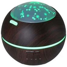 Eu Plug Air Aroma Humidifier Diffuser Night Lights Wood Grain Ultrasonic Air Humidifier цена и фото