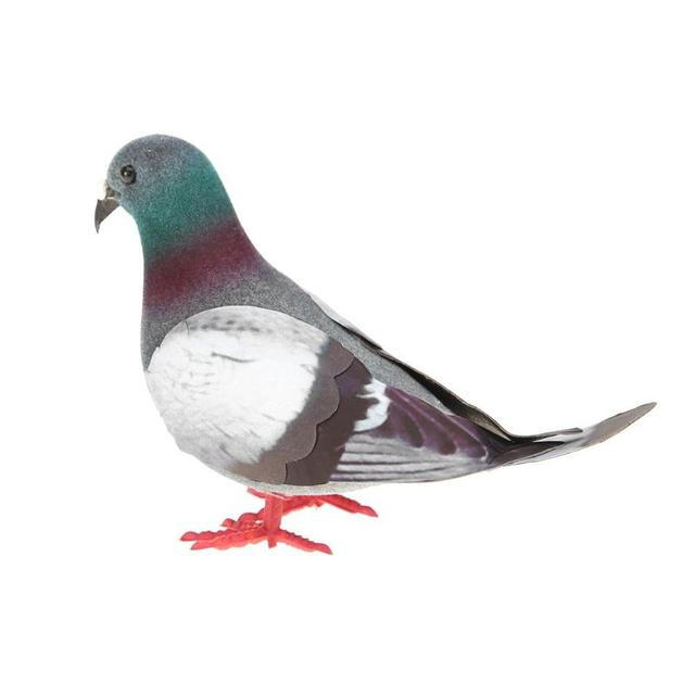 Simulation Foam Pigeon Model Fake Artificial Imitation Bird Animal Home Garden Ornament Miniature Decoration Home Decoration 6